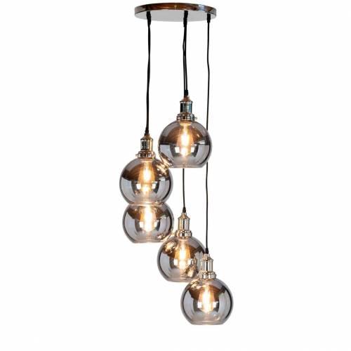 Lampe suspendue CamdonE27 / 60 watt (5 pieces) Suspensions et plafonniers - 31