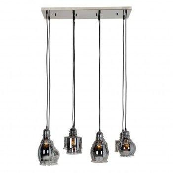 Lampe suspendue Bryon avec 8 lampes differentesE27 / 60 watt (8 pieces) Suspensions et plafonniers - 4