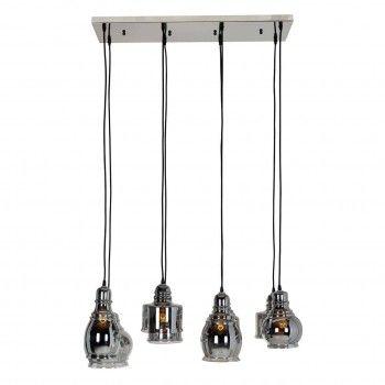 Lampe suspendue Bryon avec 8 lampes differentesE27 / 60 watt (8 pieces) Suspensions et plafonniers - 20
