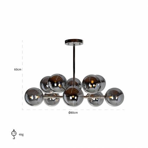 Lampe suspendue Riley (G9 raccord)G9 (max 1,9 largeur / 10 pieces) Suspensions et plafonniers - 27