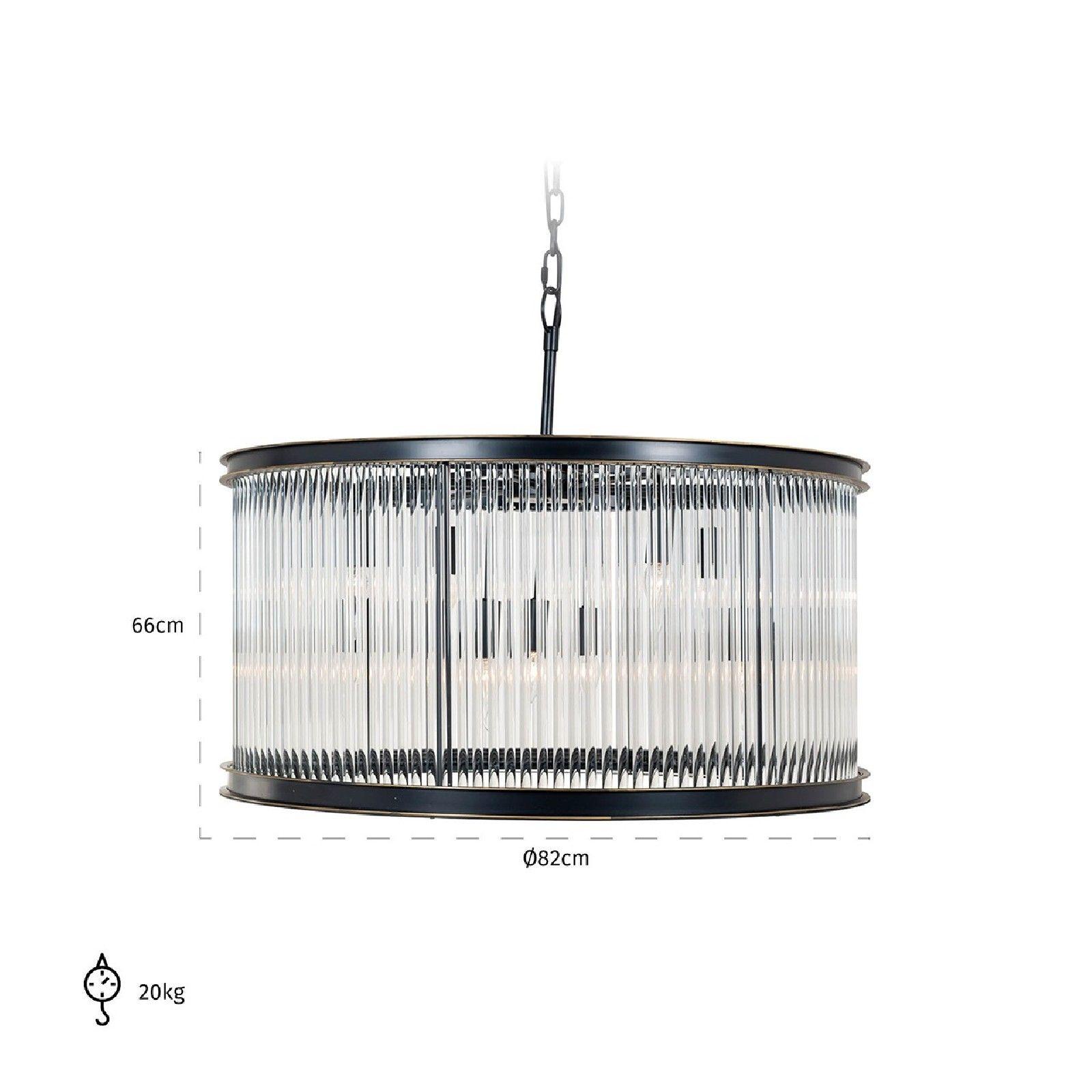 Lampe suspendue PhyllonE14 / 40 watt (9 pieces) Suspensions et plafonniers - 22