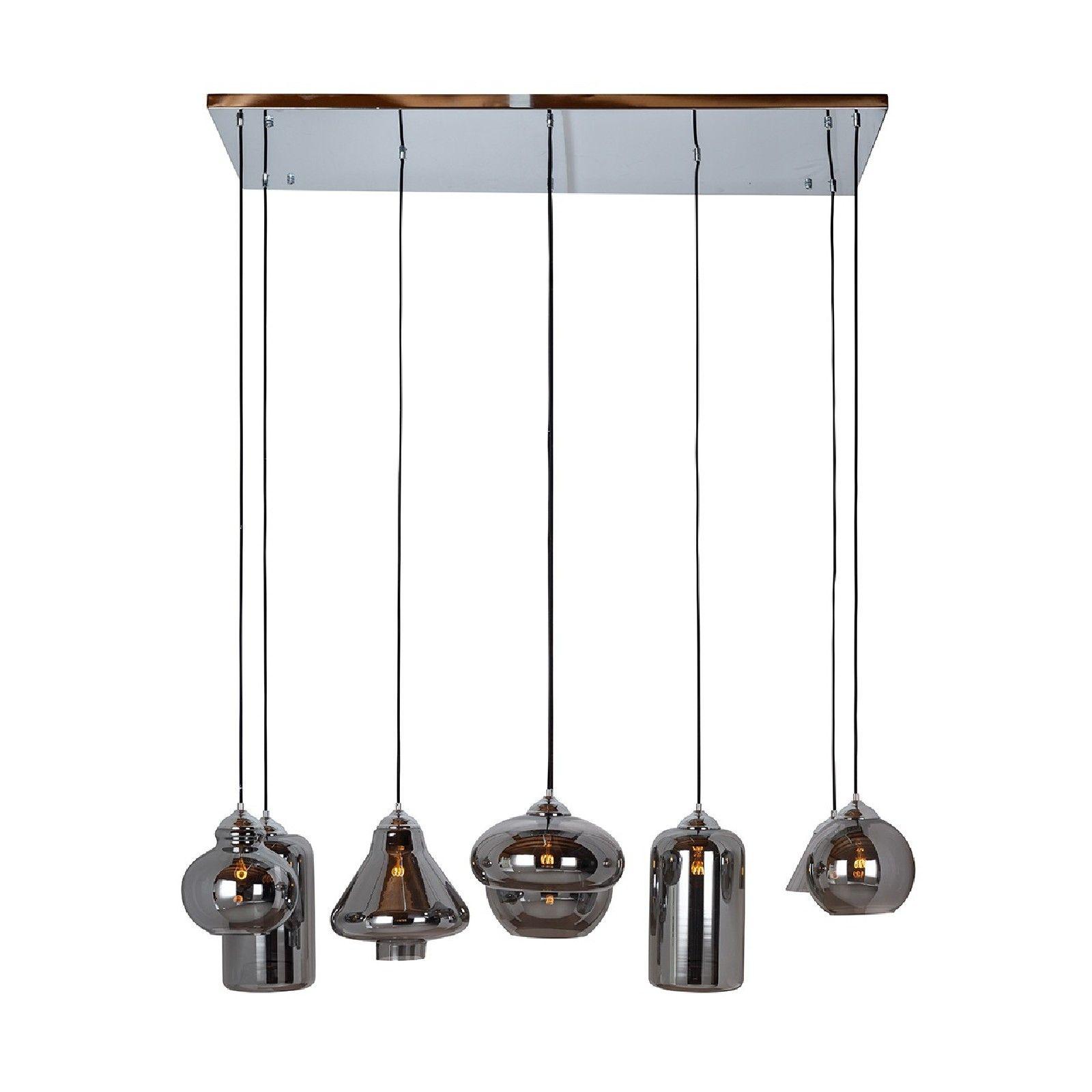 Lampe suspendue Crosley avec 8 lampes differentesE27 / 40 watt (8 pieces) Suspensions et plafonniers - 18