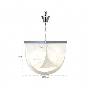 Lampe suspendue Colbey marble lookE14 / 25 watts (6 pieces) Suspensions et plafonniers - 13