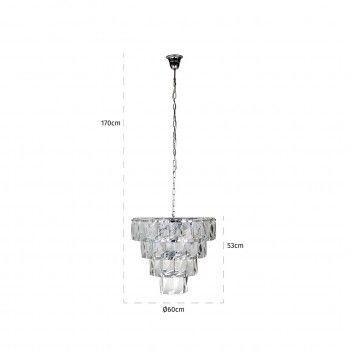 Lampe suspendue WyneE14 / 25 watts (9 pieces) Suspensions et plafonniers - 25