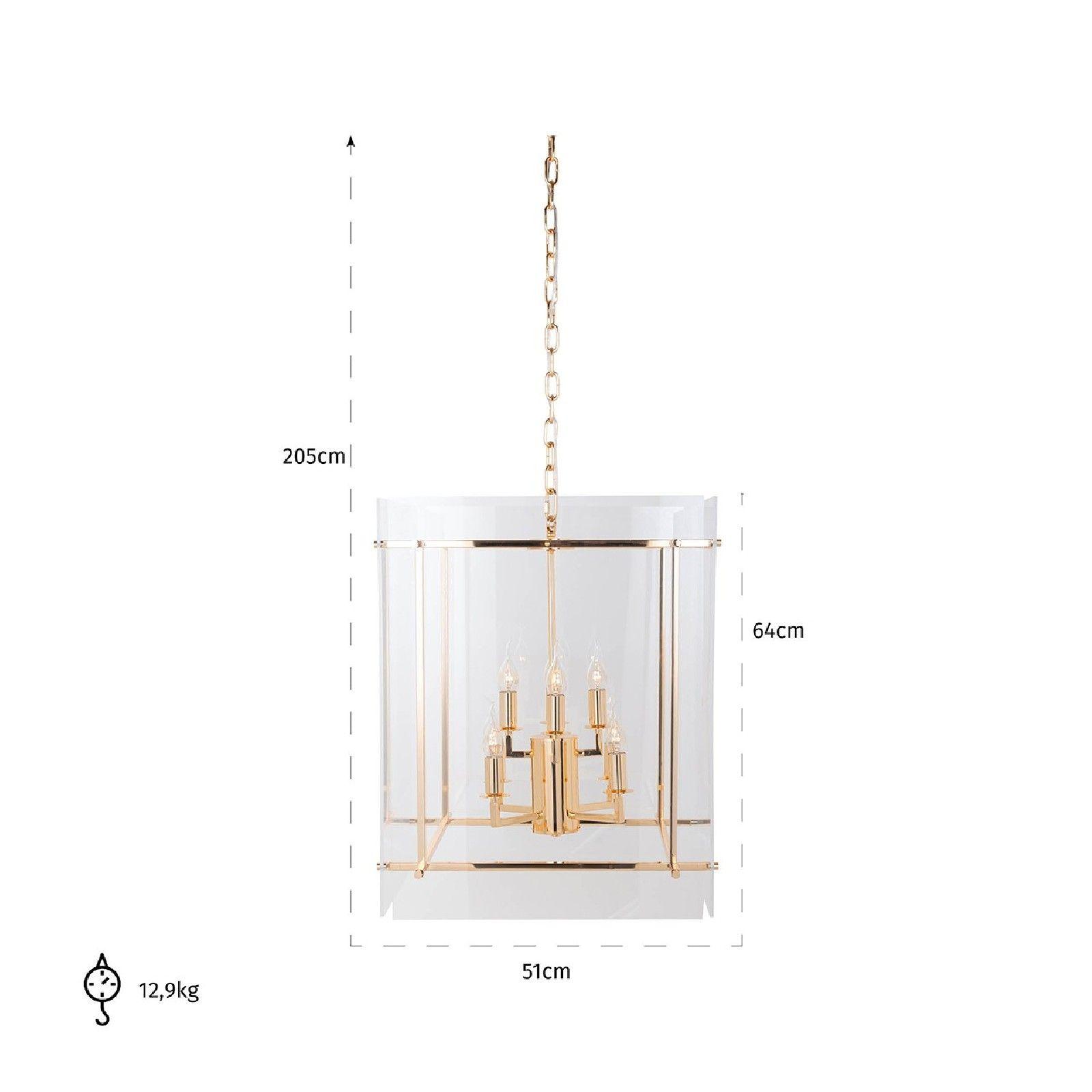 Lampe suspendue Chess avec de l'acryliqueE14 / 25 watts (8 pieces) Suspensions et plafonniers - 28