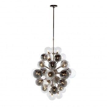 Lampe suspendue BenzoG9 (max 1,9 largeur / 38 pieces) Suspensions et plafonniers - 22
