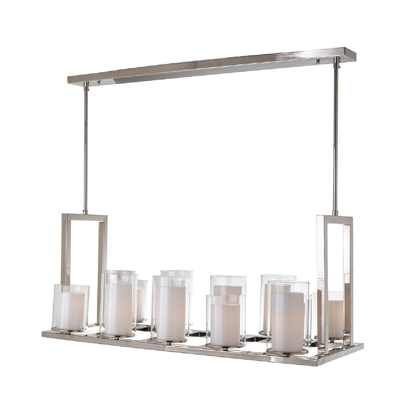 Lampe suspendue Naila avec 14 bougeoirsE27 / 40 watt (14 pieces) Suspensions et plafonniers - 7
