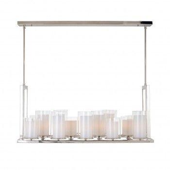 Lampe suspendue Naila avec 14 bougeoirsE27 / 40 watt (14 pieces) Suspensions et plafonniers - 48