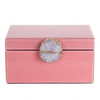 Boîte à bijoux Maisie rose