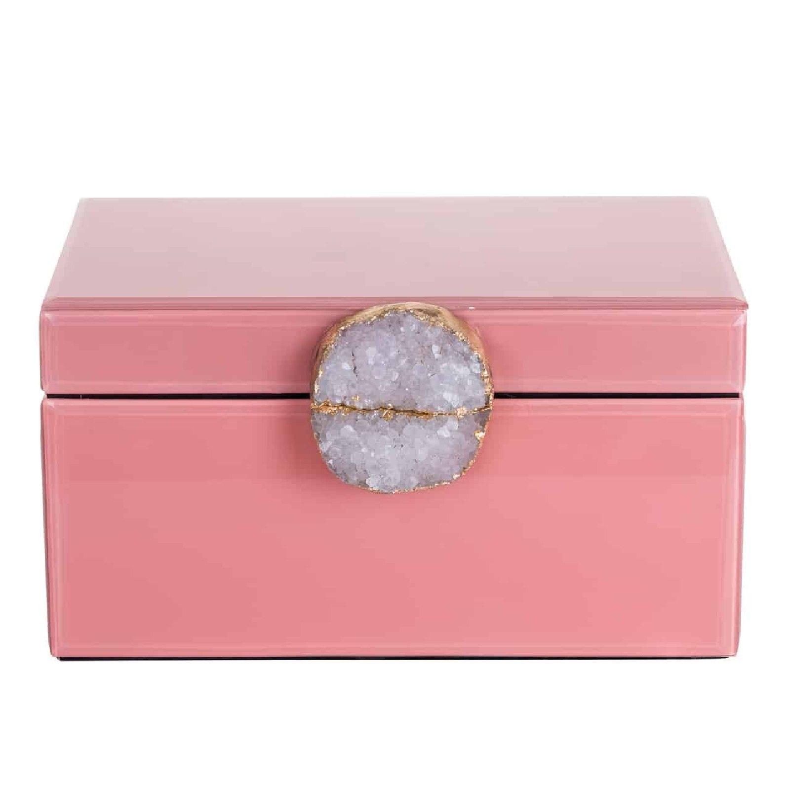 Boîte à bijoux Maisie rose Boîtes décoratives - 43