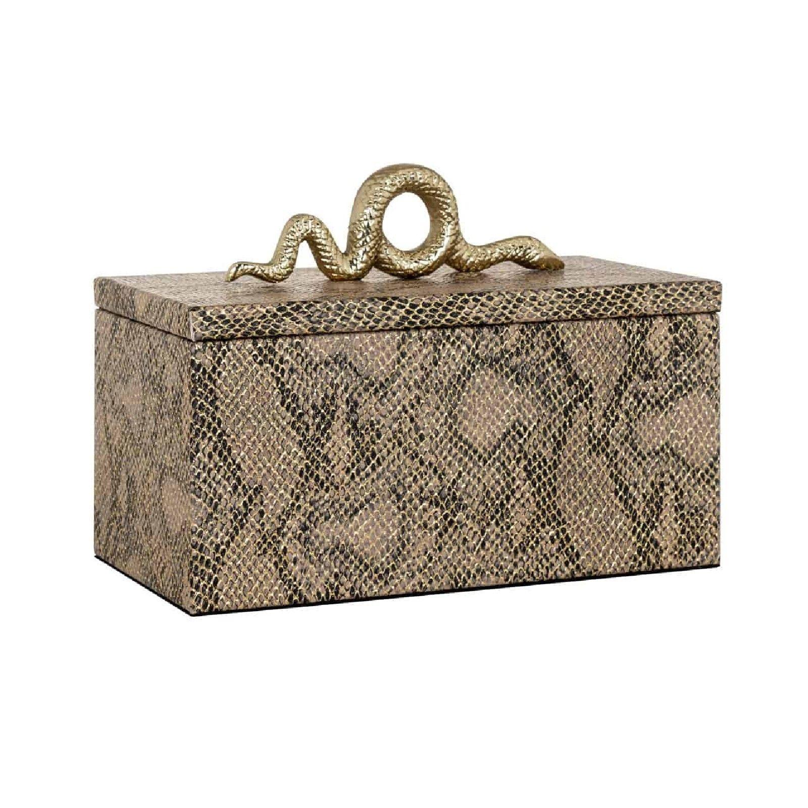 Boîte à bijoux Ruby snake Boîtes décoratives - 6