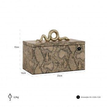 Boîte à bijoux Ruby snake Boîtes décoratives - 29