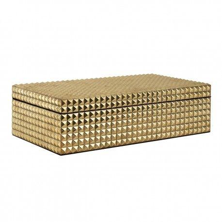 Boîte à bijoux Blaze dorée