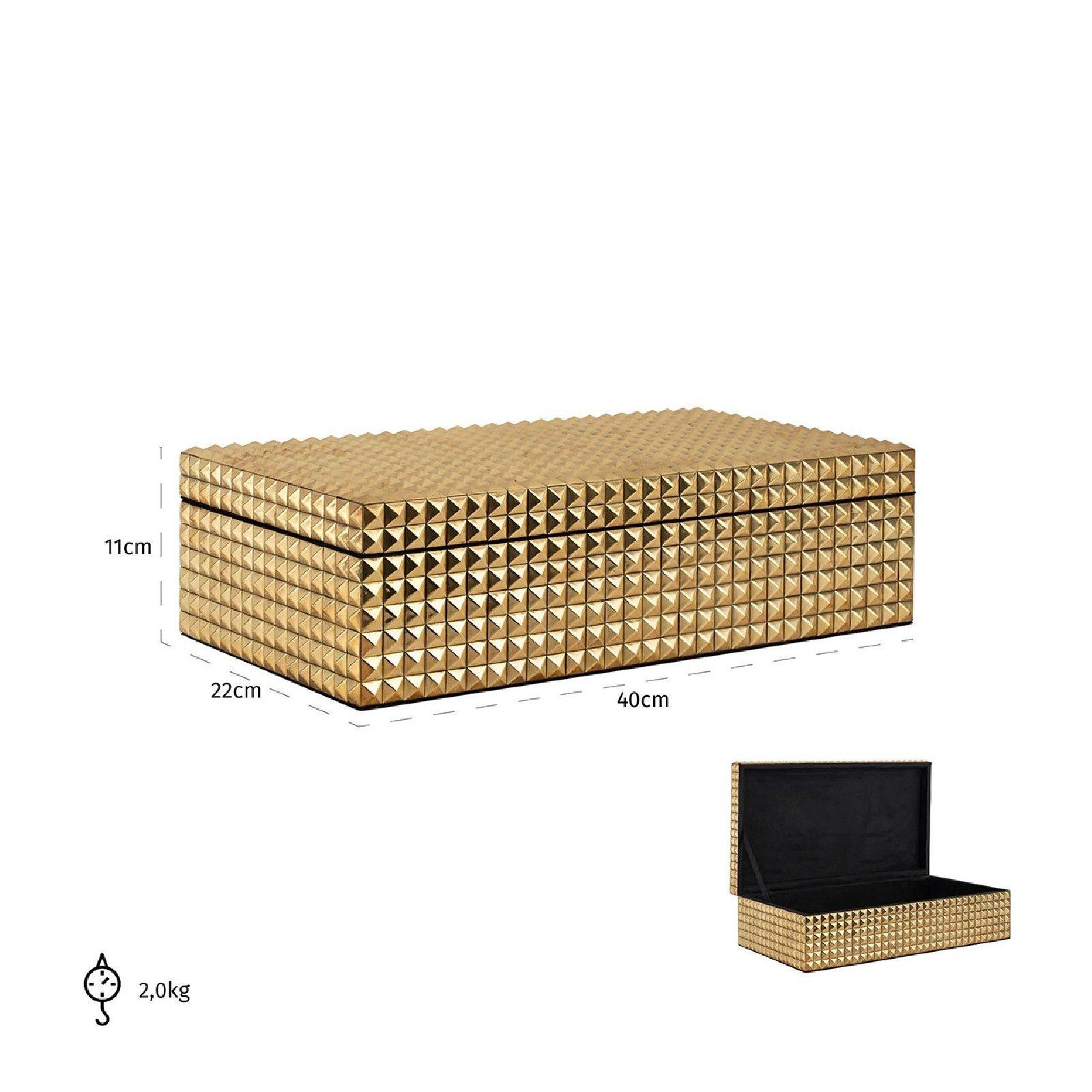 Boîte à bijoux Blaze dorée Boîtes décoratives - 44