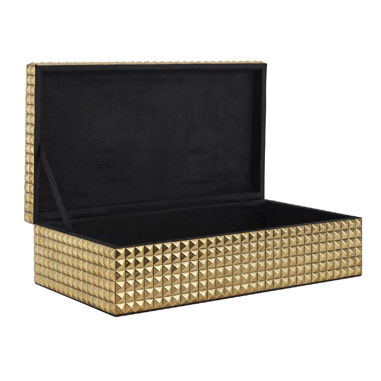 Boîte à bijoux Blaze dorée Boîtes décoratives - 59