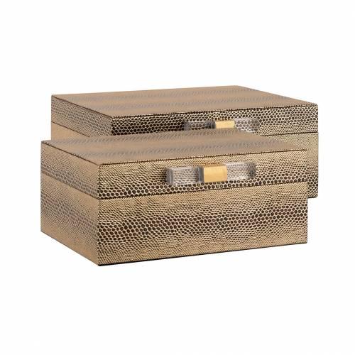 Boîte à bijoux Balou set de 2 Boîtes décoratives - 12