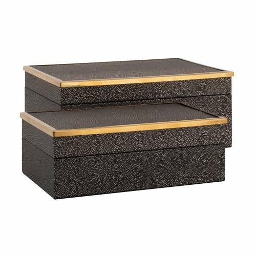 Boîte à bijoux Betoul set de 2, un petit et un grand Boîtes décoratives - 19