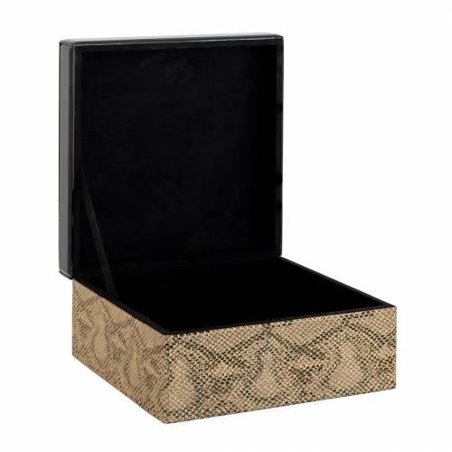 Boîte à bijoux Jalina snake look Boîtes décoratives - 31