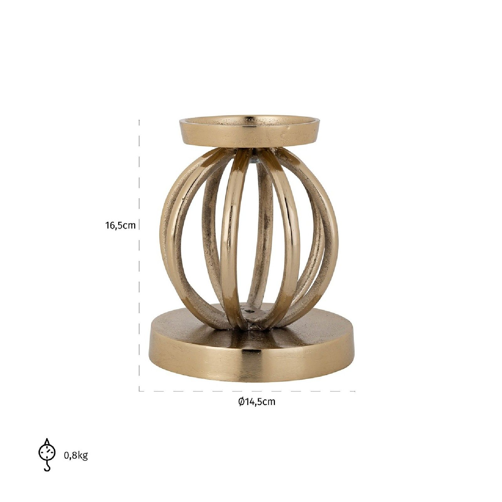 Bougeoir Brandy small Bougeoirs et photophores - 52