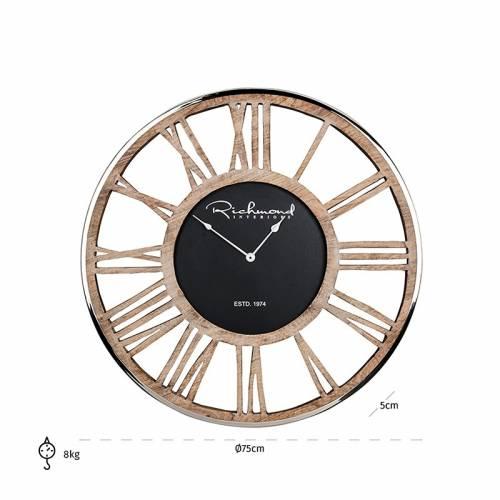 Horloge Johnson metal Horloges murales - 20