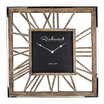 Horloge Everson metal square