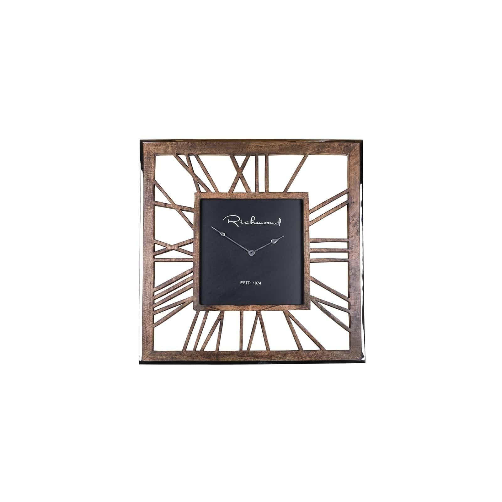 Horloge Everson metal square Horloges murales - 15