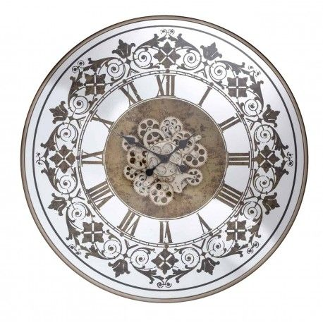 Horloge Orvill ronde dorée