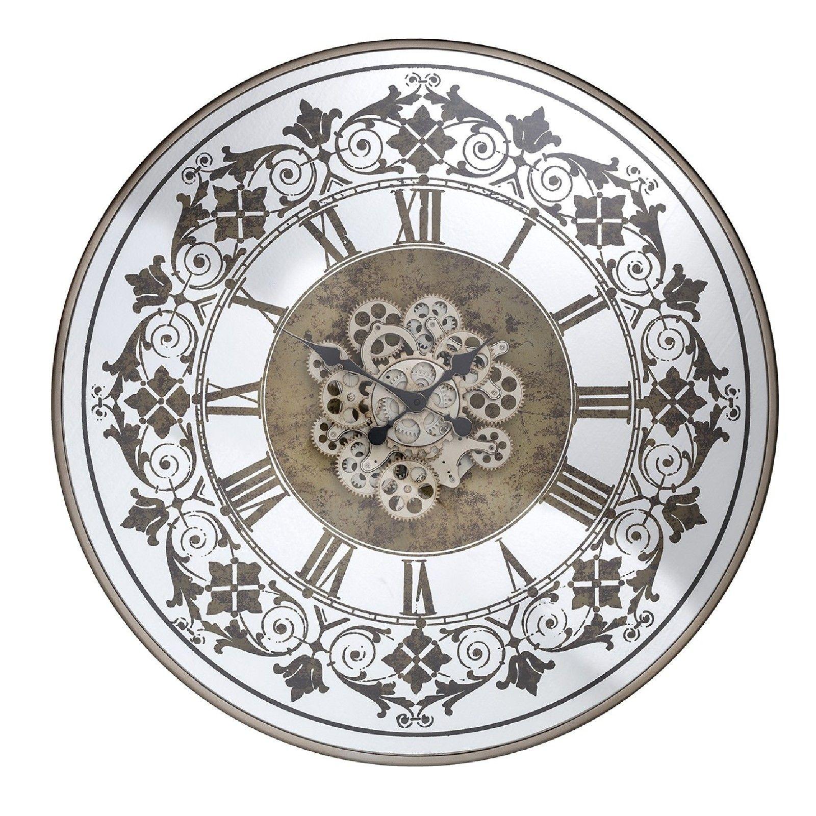 Horloge Orvill ronde dorée Horloges murales - 22
