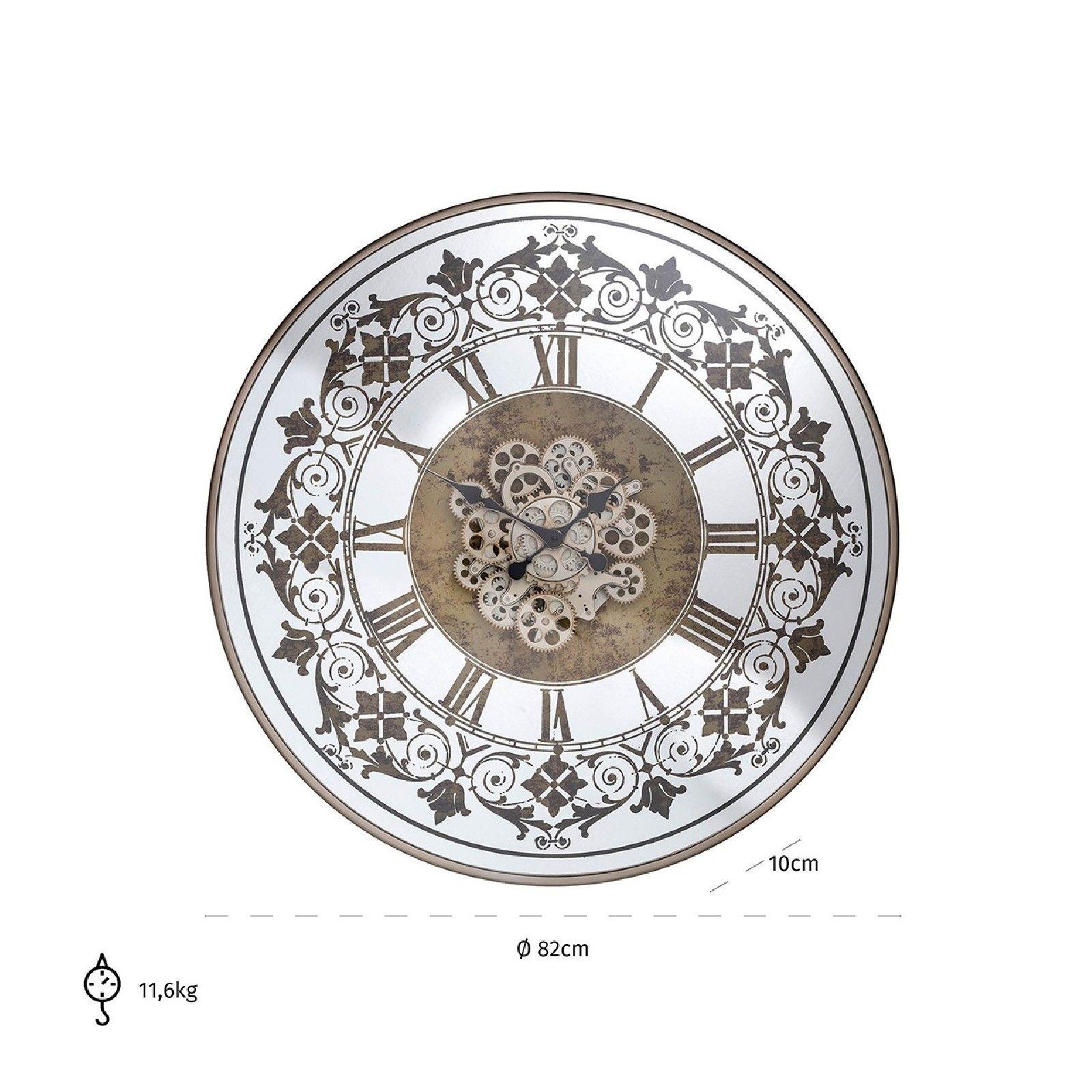 Horloge Orvill ronde dorée Horloges murales - 33