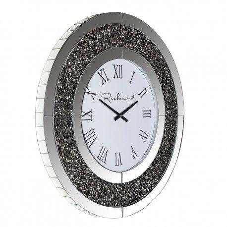 Horloge Chasin rond avec paillettes