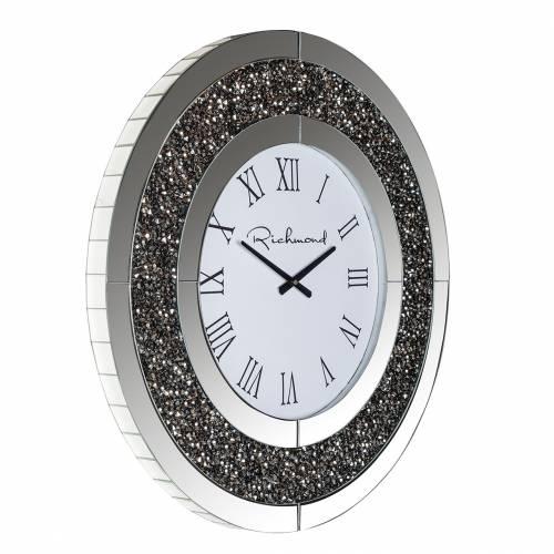 Horloge Chasin rond avec paillettes Horloges murales - 10