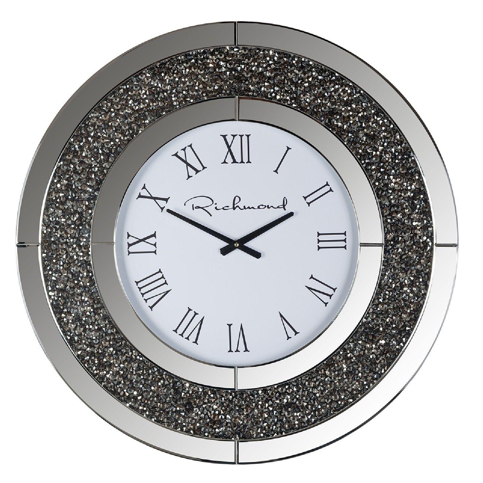 Horloge Chasin rond avec paillettes Horloges murales - 18