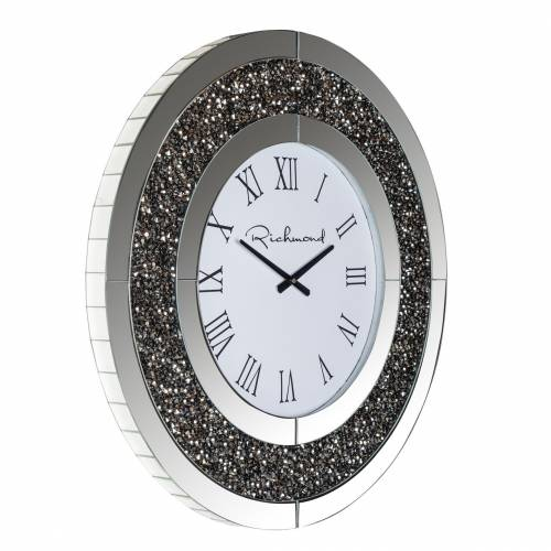 Horloge Chasin rond avec paillettes Horloges murales - 30