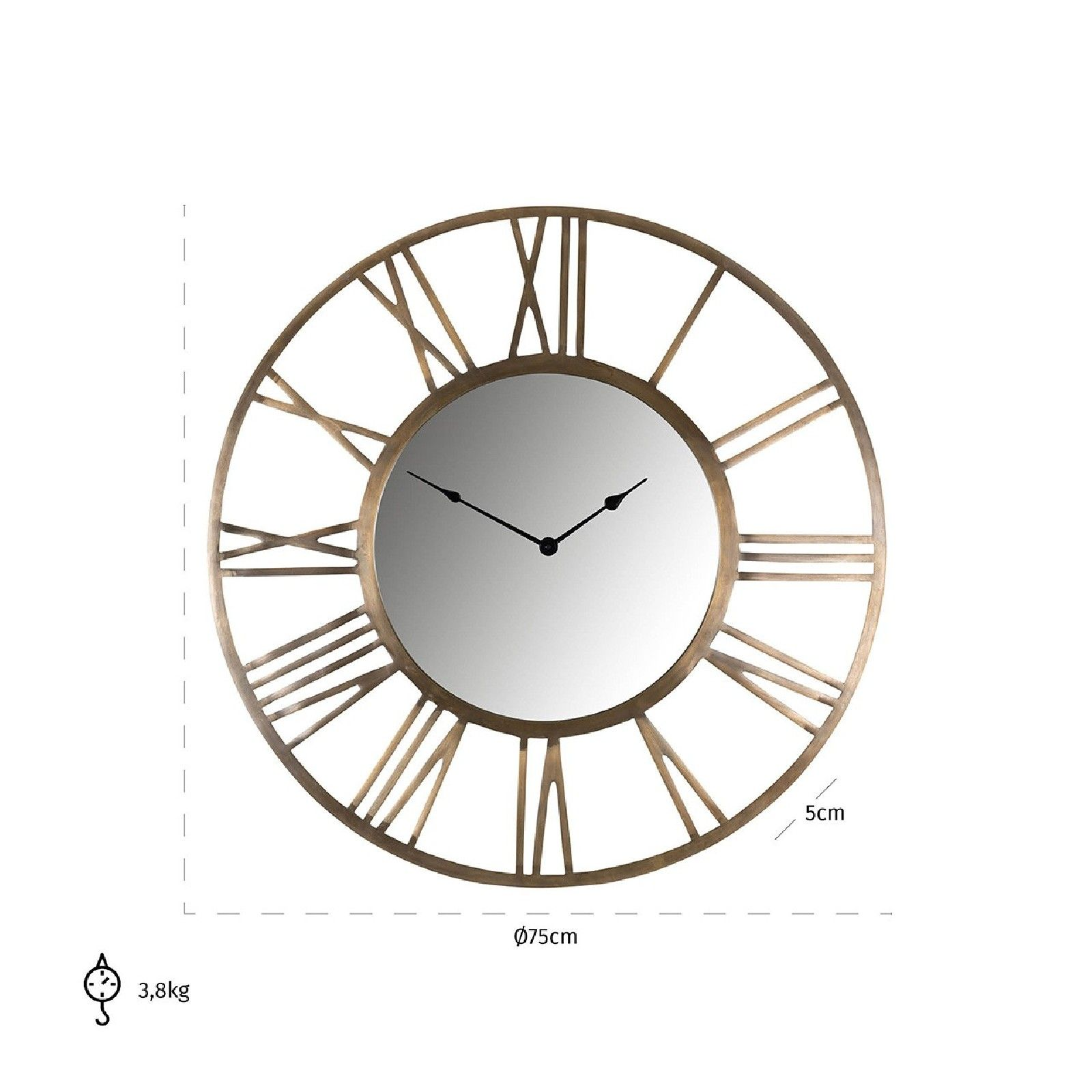 Horloge Kaelyn Horloges murales - 21
