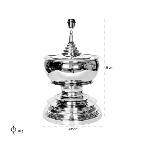 Lampe de table Soul aluminiumE27 / 60 watt Lampes - 62