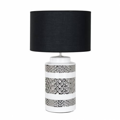 Lampe de table Aurora incl. abat-jour noirE27 / 60 watt Lampes - 72