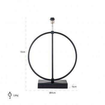 Lampe de table Byron noirE27 / 60 watt Lampes - 93