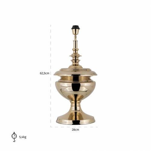Lampe de table Ensley goldE27 / 60 watt Lampes - 96