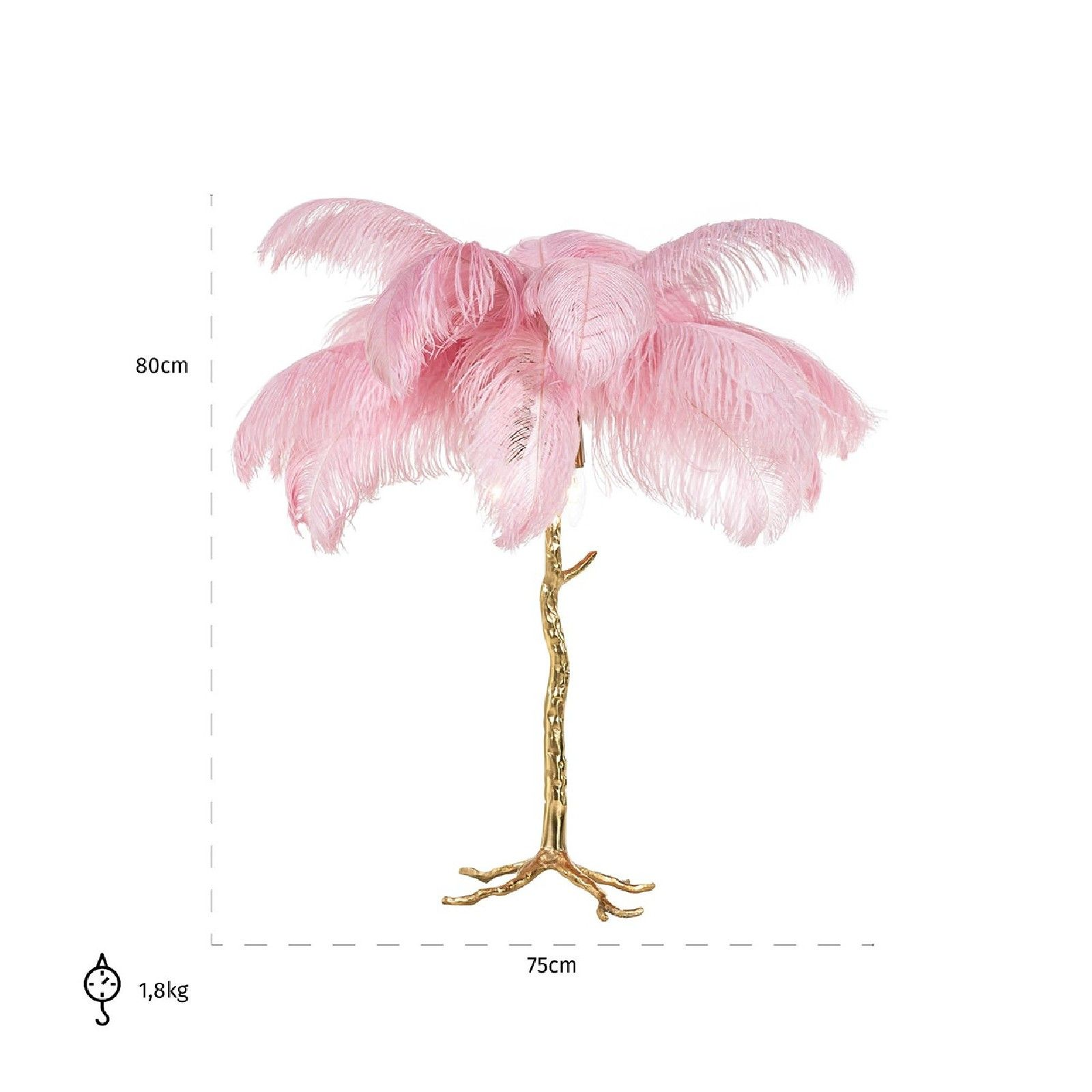 Lampe de table Upanova pinkE14 / 40 watt (3 pieces) Lampes - 2