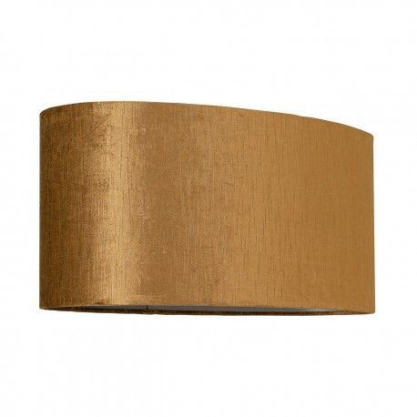 Abat-jour Goya ovale, doré