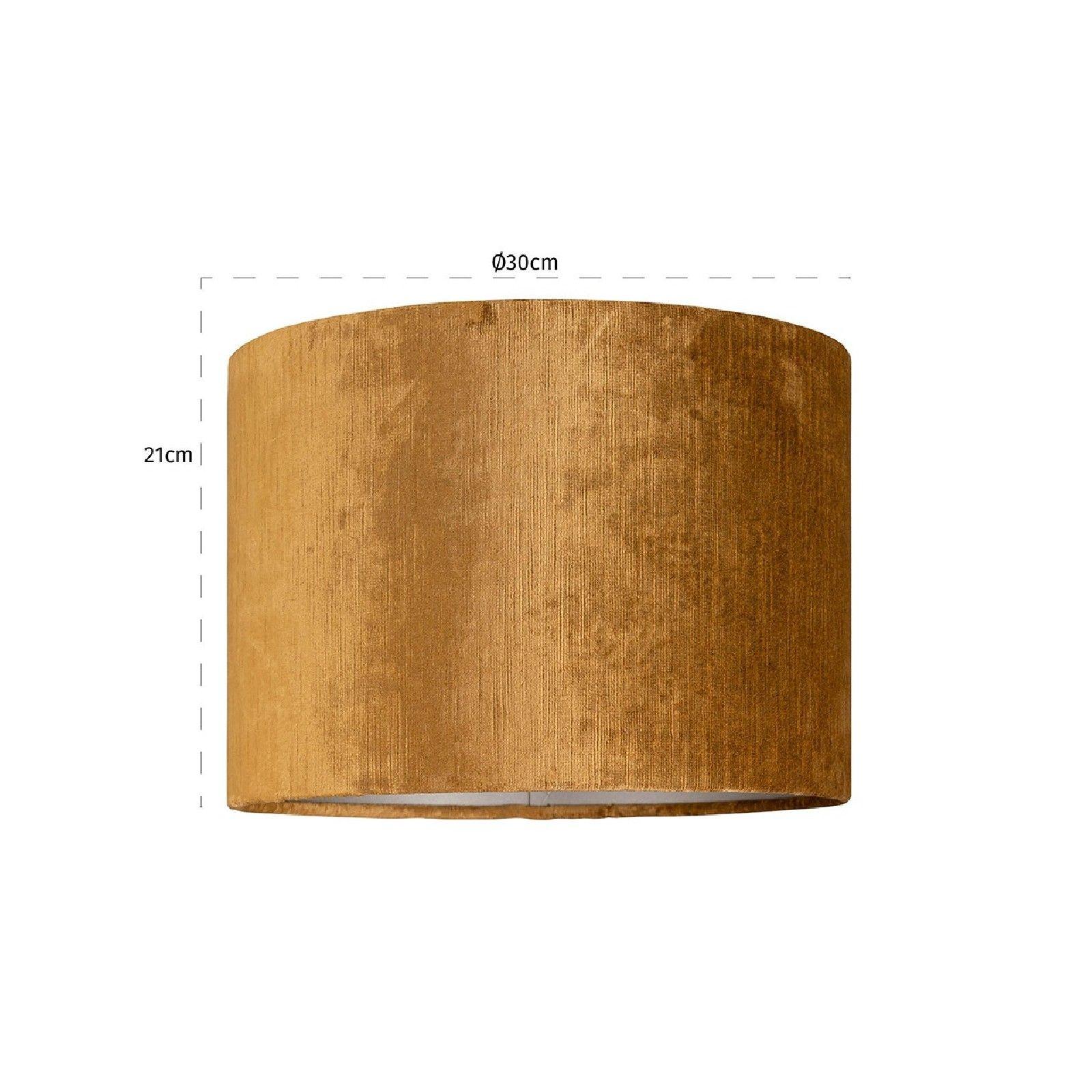Abat-jour Goya cilinder 30Ø, doré Abat jours - 46