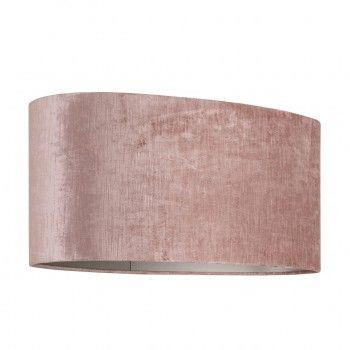 Abat-jour Philou ovale, rose