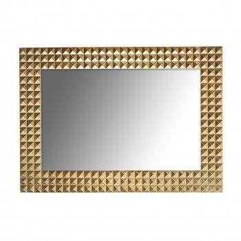Miroir Caster gold