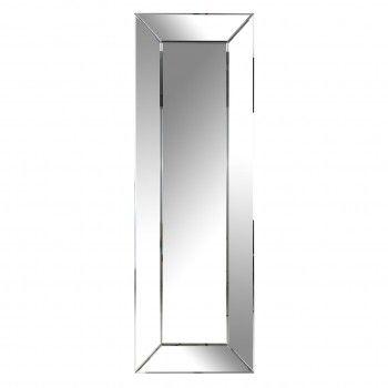 Miroir Birlee silver frame