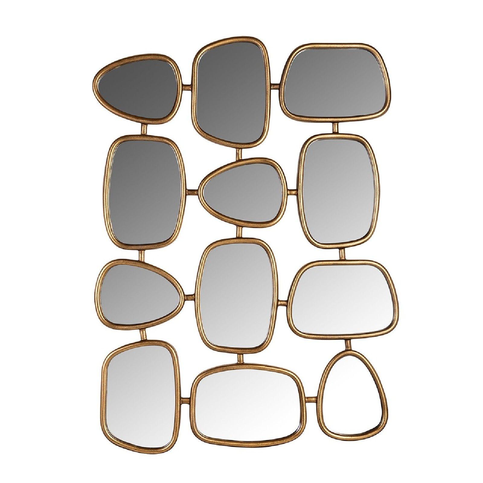 Miroir Jeff avec 12 miroirs Miroirs décoratifs - 16