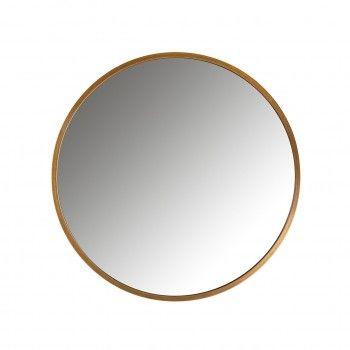 Miroir Maeron doré 70Ø