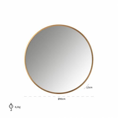 Miroir Maesa doré 90Ø Miroirs décoratifs - 20