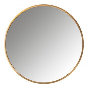 Miroir Maevy doré 110Ø