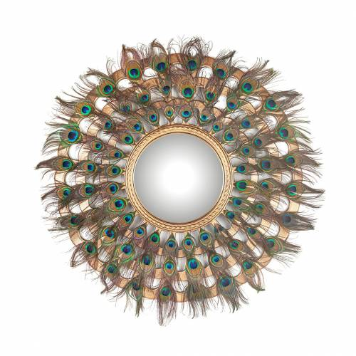 Miroir Macynn avec ces plumes Miroirs décoratifs - 17