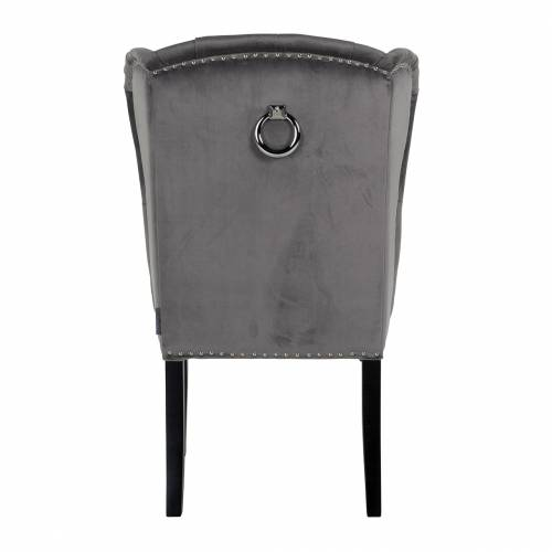 Chaise Daisy Fire RetardantSilver nails and ring Salle à manger - 271